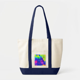 Baby Shower In Navy And White I Tote Bag