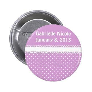 Baby Shower in Pink 2 Inch Round Button