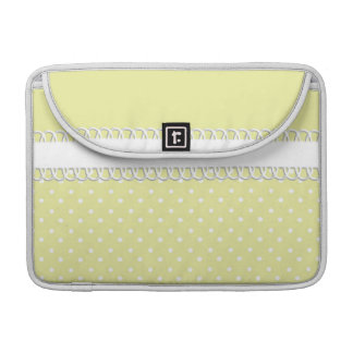 Baby Shower in Yellow Sleeve For MacBooks