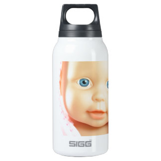Baby shower insulated water bottle