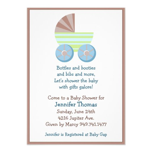this adorable baby boy themed baby shower invitation is the perfect