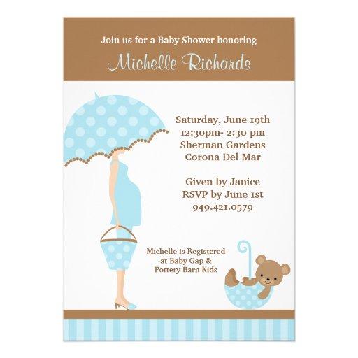 baby shower invitation 5 x 7 invitation card zazzle