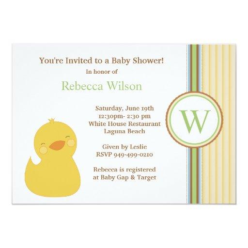 baby shower invitation zazzle