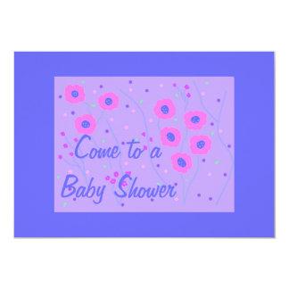 Baby Shower Invitation, boy 5x7 Paper Invitation Card