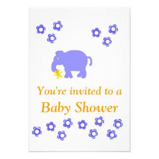 Baby Shower Invitation Boy