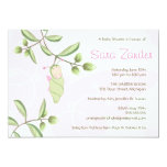 Baby Shower Invitation - Butterfly