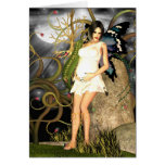 Baby Shower Invitation card Gothic Fairy
