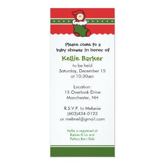 Baby Shower Invitation - Christmas / December