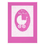 Baby Shower Invitation for Baby Girl- customisable