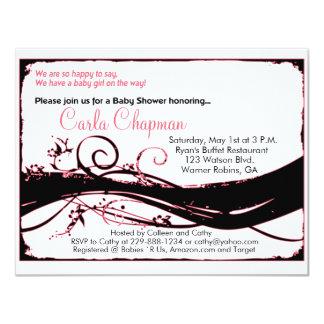 Baby Shower Invitation for Girl