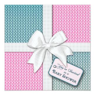 Baby Shower Invitation - Gift Wrap