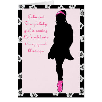 Baby Shower Invitation Greeting Card