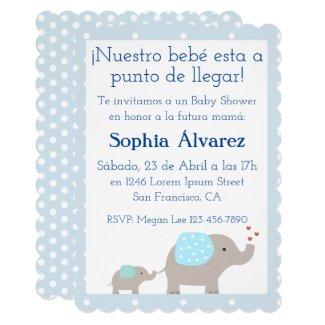 Baby Shower Invitation/Invitación para Baby Shower Card