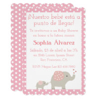 3a4358a308ea8 Baby Shower Invitation Invitación para Baby Shower