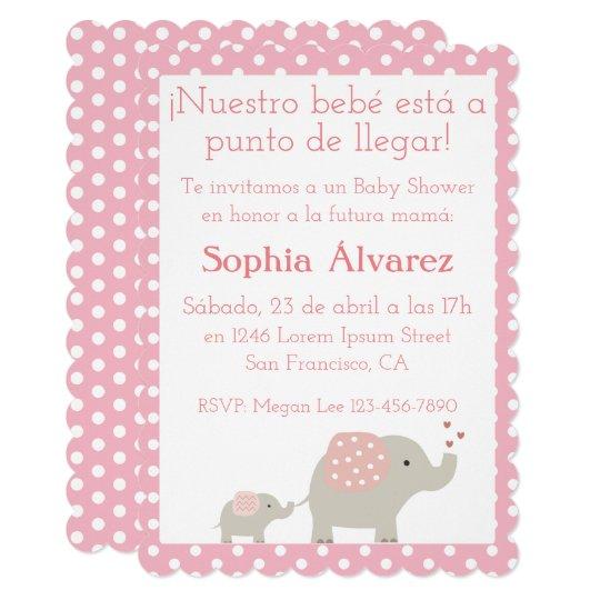 Baby Shower Invitationinvitacin Para Baby Shower Invitation