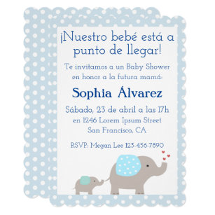 Baby Boy Shower Invitaciones Gifts On Zazzle