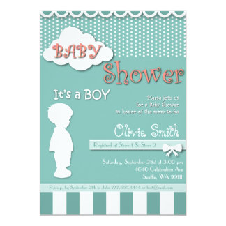 "Baby Shower Invitation ""Its a boy"""