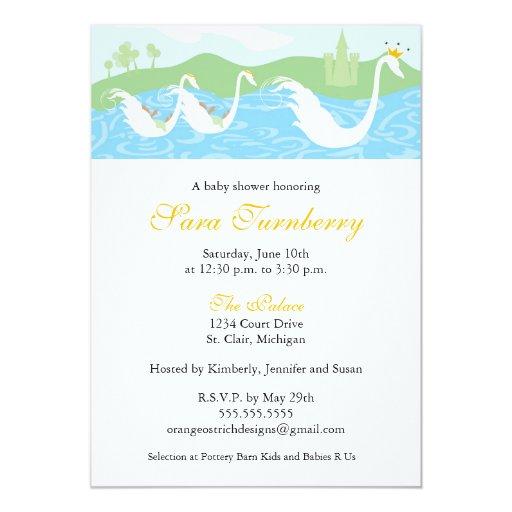 baby shower invitation little twin royalty zazzle