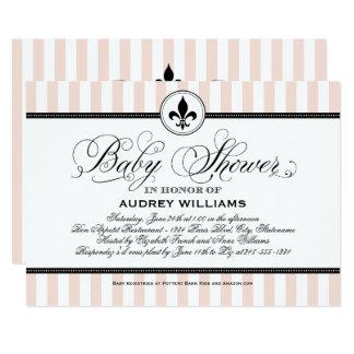 Baby Shower Invitation | Paris France Theme