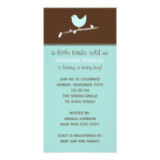 Baby Shower Invitation Photo Card