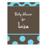 Baby shower Invitation Postcard