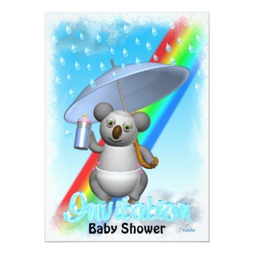 baby shower invitation rainbows to baby bottles zazzle