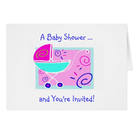 baby shower invitation template greeting card zazzle