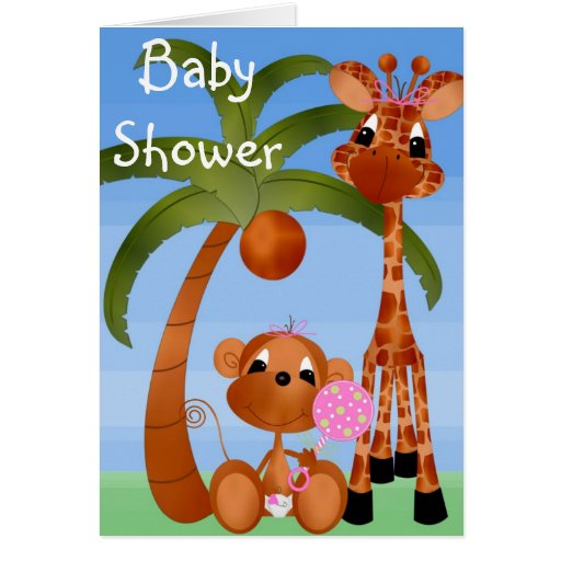 baby shower invitations greeting card zazzle