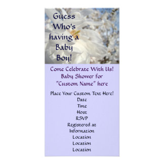 Baby Shower Invitations Guess who's Having a Boy!