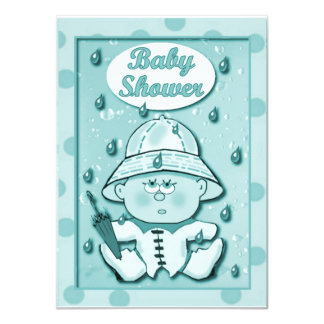Baby Shower Invitations template