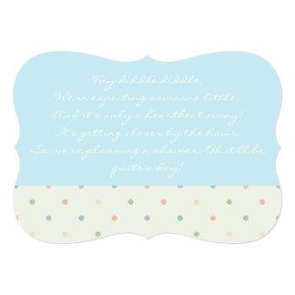 Baby Shower Invite - Boy