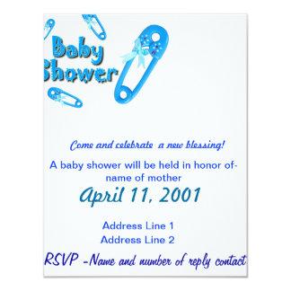 Baby Shower Invite-Boy