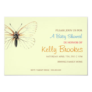 Baby Shower Invite | Butterfly