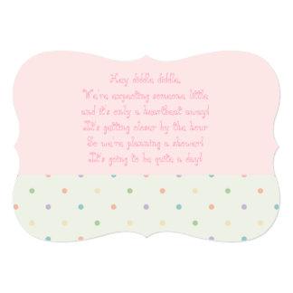 Baby Shower Invite - Girl