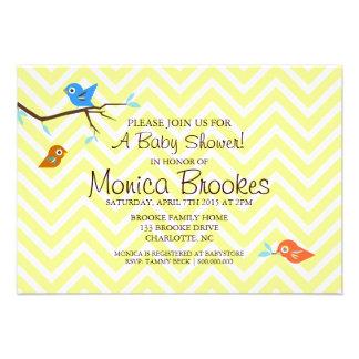 Baby Shower Invite | Little Birdie |chevneutral