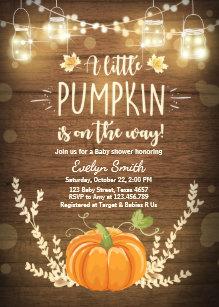 Autumn Invitations Zazzle
