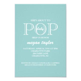 Baby Shower Invite | POP |blu