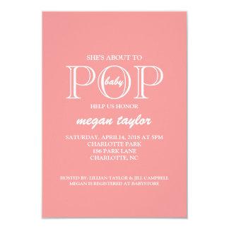 Baby Shower Invite | POP |pink