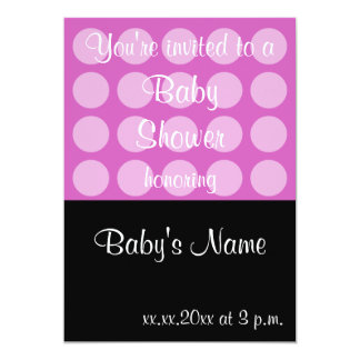 Baby Shower Invite Template - For Female