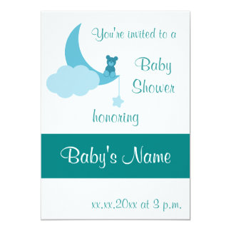 Baby Shower Invite Template - For Male