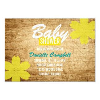 Baby Shower Invite | Wood Shower
