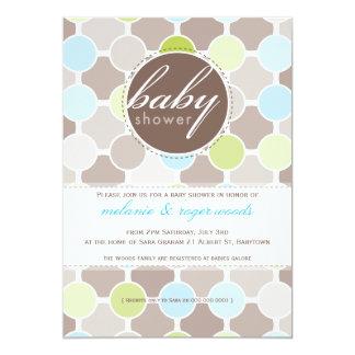 BABY SHOWER INVITES :: fizzy spots 6P