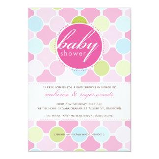 BABY SHOWER INVITES :: fizzy spots 9P