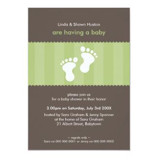 BABY SHOWER INVITES :: happy feet 13P