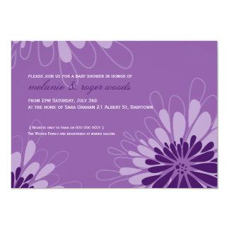 BABY SHOWER INVITES :: modern bloom 7L