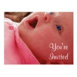 Baby Shower Invites Postcard