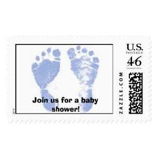 Baby Shower Join us for a baby shower Stamp