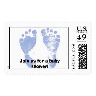 Baby Shower, Join us for a baby shower! Postage Stamps