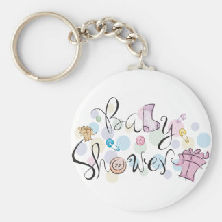 Baby Shower Keychain