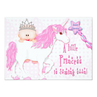 Baby Shower - Little Princess - Invitations